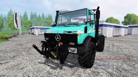 Mercedes-Benz Unimog U1600 para Farming Simulator 2015