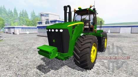 John Deere 9630 v5.1 para Farming Simulator 2015