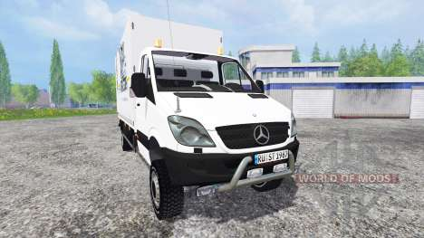 Mercedes-Benz Sprinter v0.5 para Farming Simulator 2015