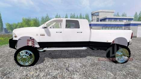 Dodge Ram 3500 2015 [custom] para Farming Simulator 2015