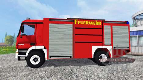 Mercedes-Benz Actros [feuerwehr] para Farming Simulator 2015
