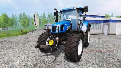 New Holland T6.160 v1.0.0 para Farming Simulator 2015