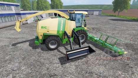 Krone Big X 1100 FL para Farming Simulator 2015
