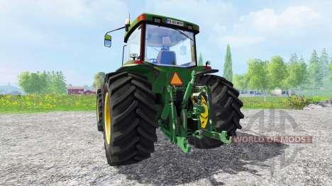 John Deere 8400 v1.5 para Farming Simulator 2015