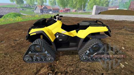 Can-Am Outlander 1000 XT [quadtrac] para Farming Simulator 2015