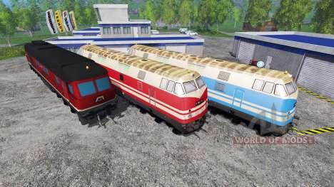 Las locomotoras para Farming Simulator 2015
