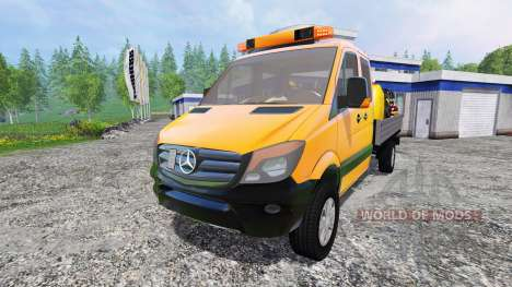 Mercedes-Benz Sprinter 316 Service para Farming Simulator 2015
