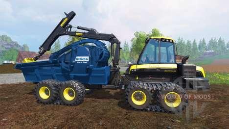 PONSSE Buffalo Wood Chipper v1.0 para Farming Simulator 2015
