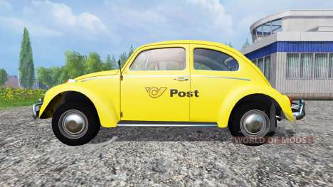 Volkswagen Beetle 1966 [Post Edition] para Farming Simulator 2015