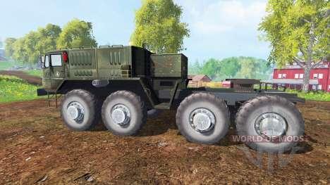 MAZ-537 v1.1 para Farming Simulator 2015