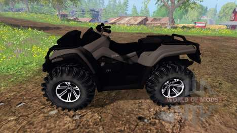 Can-Am Outlander 1000 XT [black] para Farming Simulator 2015