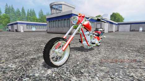 Harley-Davidson [final] para Farming Simulator 2015