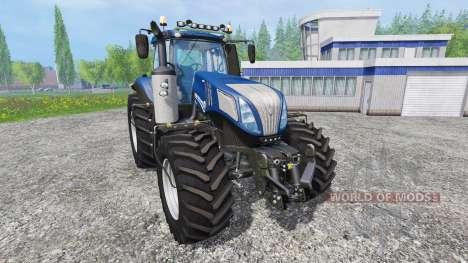 New Holland T8.420 [blue power] v1.0 para Farming Simulator 2015