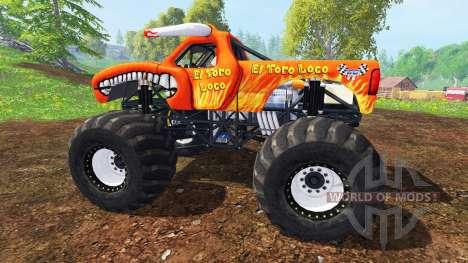 El Toro Loco para Farming Simulator 2015