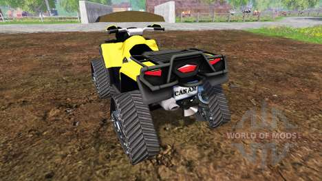 Can-Am Outlander 1000 XT [quadtrac] para Farming Simulator 2015