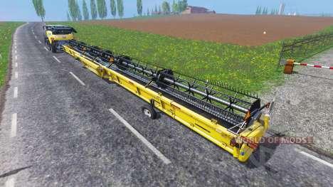 New Holland Super Flex Draper 45FT [38m] para Farming Simulator 2015