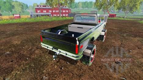 Chevrolet C10 Cheyenne 1972 para Farming Simulator 2015