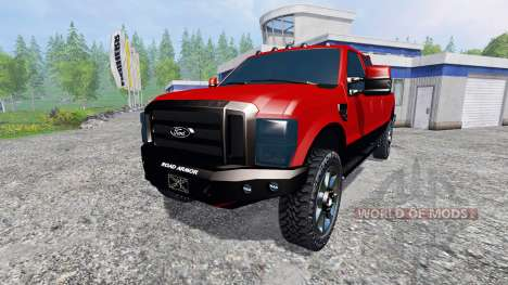 Ford F-250 2009 para Farming Simulator 2015
