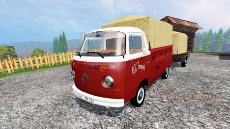 Volkswagen Transporter T2B [trailer] v1.1 para Farming Simulator 2015