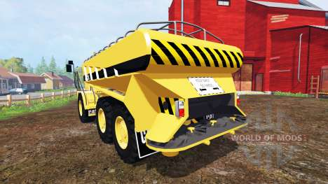 Caterpillar 725A [manure spreader] v2.0 para Farming Simulator 2015