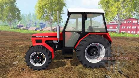 Zetor 7245 v0.1 para Farming Simulator 2015