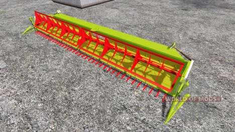 CLAAS Vario 1200 [sunflower] para Farming Simulator 2015