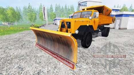 Magirus-Deutz 200D26 1964 [snow plow] para Farming Simulator 2015