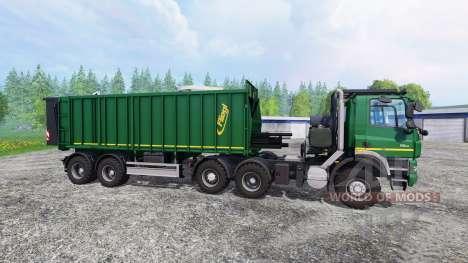 Tatra Phoenix T 158 6x6 [AgroTruck][multicolor] para Farming Simulator 2015