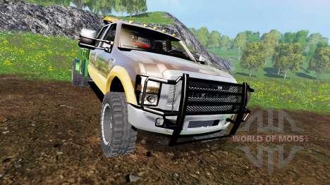 Ford F-350 [welding bed] v2.1 para Farming Simulator 2015
