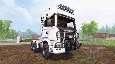 Scania R730 [agro] para Farming Simulator 2015