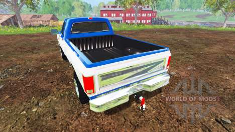 Dodge D-250 1992 para Farming Simulator 2015
