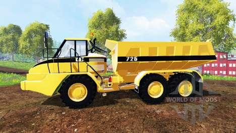 Caterpillar 725A [dump] para Farming Simulator 2015