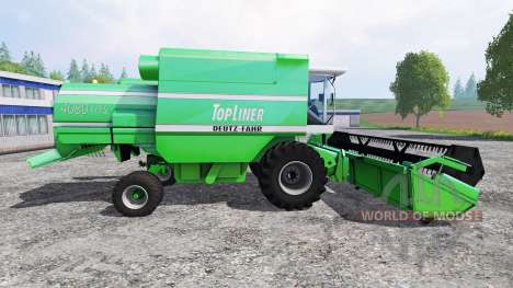 Deutz-Fahr TopLiner 4080 HTS [pack] para Farming Simulator 2015