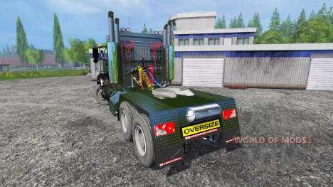 Kenworth T800 v1.0 para Farming Simulator 2015