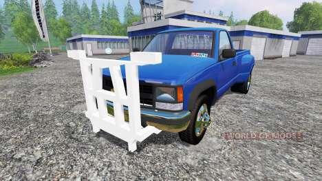 Chevrolet Silverado 3500 1994 [plow] para Farming Simulator 2015