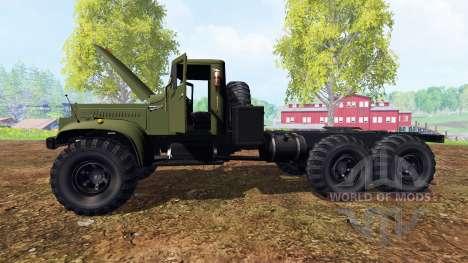 KrAZ-255 v2.0 para Farming Simulator 2015