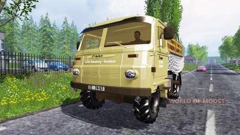 Robur LD 3000 en el tráfico para Farming Simulator 2015