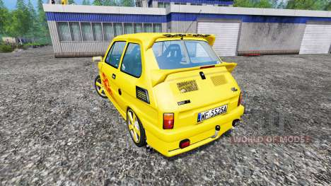 Fiat 126p [tuning] para Farming Simulator 2015