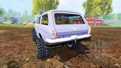 GAZ-24-12 Volga [monstruo] para Farming Simulator 2015