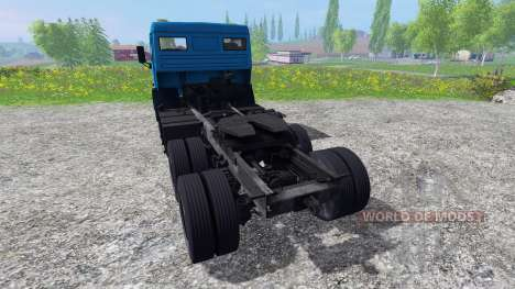 KamAZ-5410 para Farming Simulator 2015