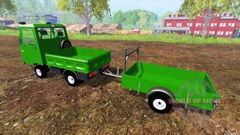 Multicar M25 para Farming Simulator 2015