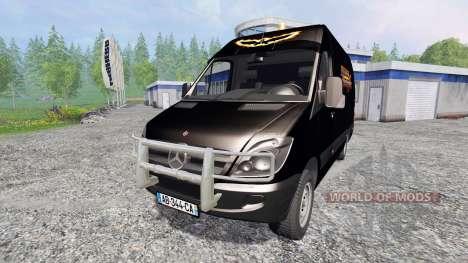 Mercedes-Benz Sprinter Service para Farming Simulator 2015