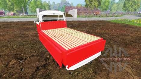 Volkswagen Transporter T2B 1972 [lowered] para Farming Simulator 2015
