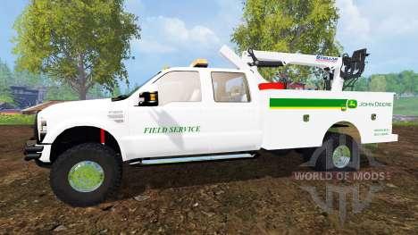 Ford F-350 Field Service v3.0 para Farming Simulator 2015