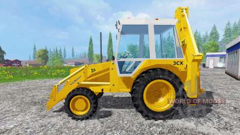 JCB 3CX 4WD v2.0 para Farming Simulator 2015