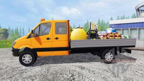 Mercedes-Benz Sprinter 316 Service para Farming Simulator 2015