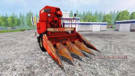 Fahr M66 [cutter maize] para Farming Simulator 2015
