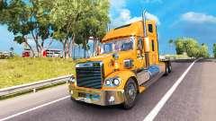 La piel de Un&W en el camión Freightliner Coronado para American Truck Simulator