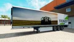 El Semi-Remolque De Fendt para Euro Truck Simulator 2