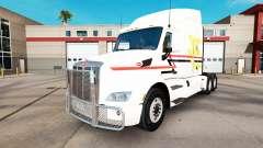 Las Líneas de la piel en el tractor Peterbilt para American Truck Simulator